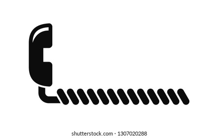Telephone hook and wire