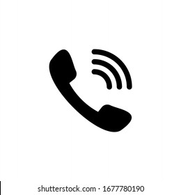 Telephone icon. Call, phone icon vector illustration