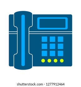 telephone icon - telephone  isolate, phone illustration - Vector phone