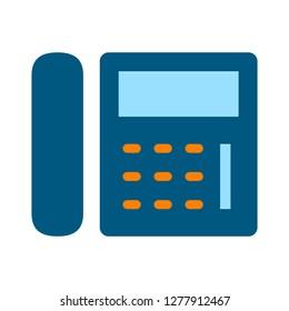 telephone icon - telephone  isolate, phone illustration - Vector phone