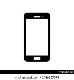 Telephone phone icon vector illustration logo. EPS 10