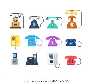 Telephones call contact, business telephones