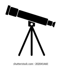 Telescope Silhouette Images Stock Photos Vectors Shutterstock