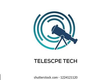 TELESCOPE TECH LOGO DESIGN