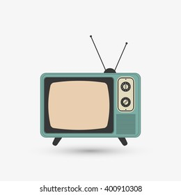 Television icon design, vector illustration