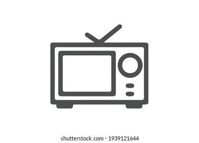 Television Icon Vector Design Template. TV Icon