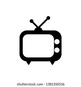Television icon vector style design template