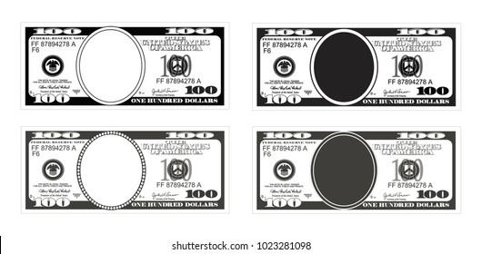 Vectores, imágenes y arte vectorial de stock sobre 100 Dollars