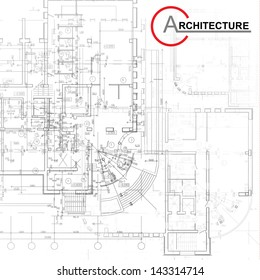 Template with architectural design elements for your business site