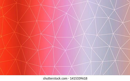 Template background with gradient and triangles. Design for you business. Vector illustration