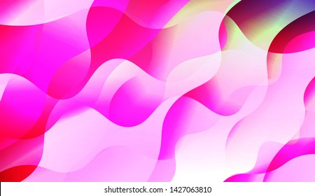 Template Background With Wave Wave Shape. For Design, Presentation, Business. Vector Illustration.