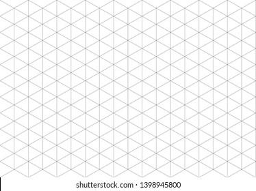 template big black isometric grid, vector illustration, EPS 10 ,Design lines Split into pieces By bringing them together.