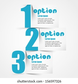 Template, can be used for infographics and banners