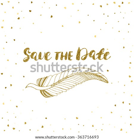 template card banner flyer save date stock vector royalty free