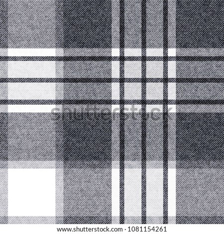 Template Checkered Seamless Background Plaid Fabric Stock
