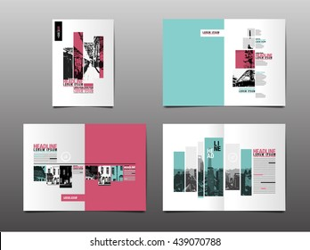 Template design, Layout, Brochure ,Geometric Abstract Modern Backgrounds