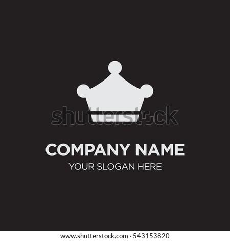 Template Elegant Business Logo Management Company Stock Vector