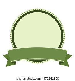 template of frame. circle logo vector.