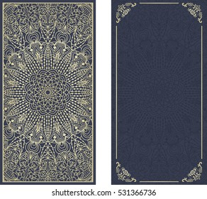 Mandala Wedding Invites Images, Stock Photos & Vectors | Shutterstock