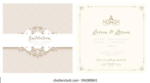 Wedding Card Cover Design Images Stock Photos Vectors Shutterstock