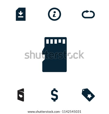 template icon collection 7 template filled stock vector royalty