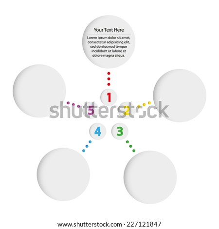 template infographic chart diagram star 450w 227121847 template infographic chart diagram star stock vector (royalty free