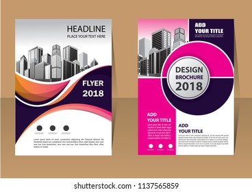 template, layout, cover, brochure, flyer, annual report for design background company