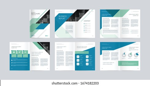 template layout design with cover page for company profile, annual report, brochures, flyers, presentations, leaflet, magazine, book .and a4 size scale for editable.