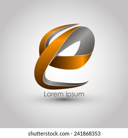 Template logo. Abstract. Vector illustration. EPS 10