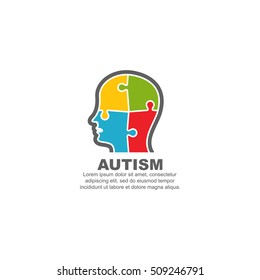 Template logo for autism