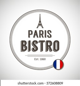 Template logo for bistros