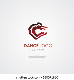 template logo dance