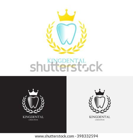 template logo dental clinic creative vector stock vector royalty