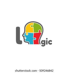 Template logo for logic