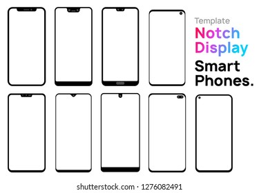 Template - Notch Display Smartphones