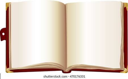 Storybook cover images stock photos vectors shutterstock template open book in the red cover maxwellsz