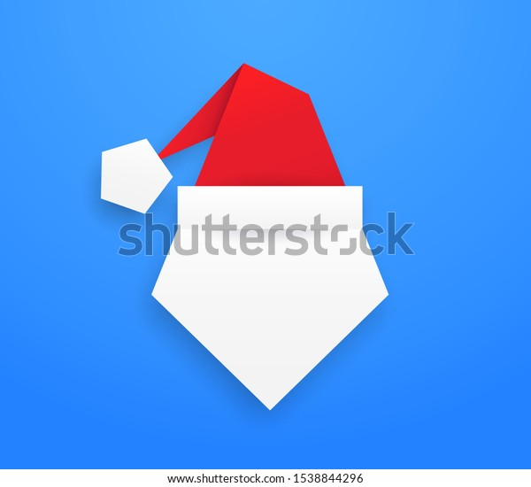 Simple Origami Santa Claus Hat (remember to