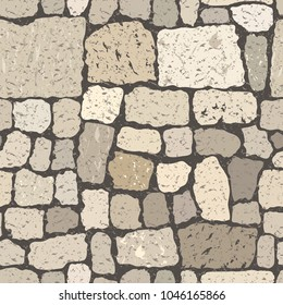 Pattern paving stone for use as a background in templates or.
