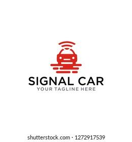 TEMPLATE SIGNAL AND CAR LOGO DESIGN INSPIRATIONS / VECTOR