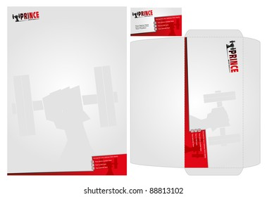 template of stationary design