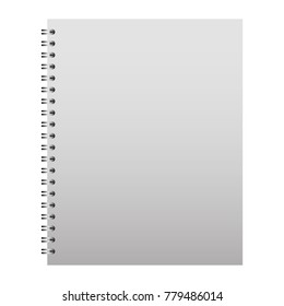 template stationery notebook office for business cover blank design