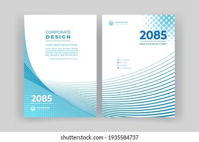 Template vector design for Brochure, Annual Report, Magazine, Poster, Corporate Presentation, Portfolio, Flyer, layout
