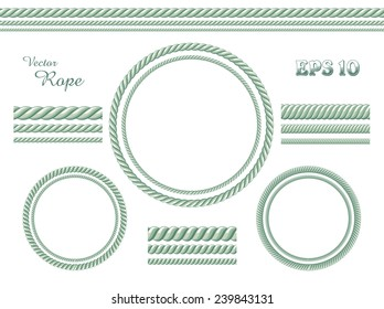 Template of vector rope