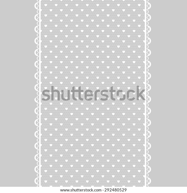 Template Wedding Invitation Greeting Card White Stock Vector