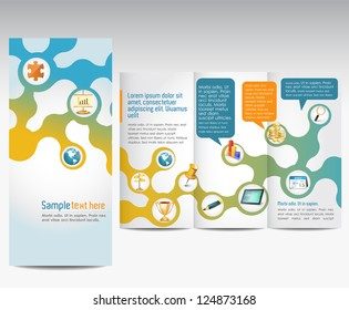 Templates for advertising brochure
