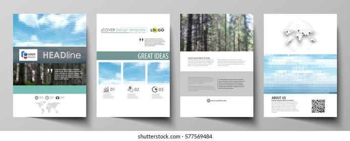 Magazine Templates | Travel Magazine Template Stock Illustrations Images