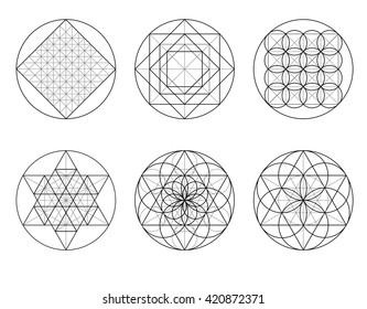 Templates For Building Geometric Ornament Sacred Geometry
