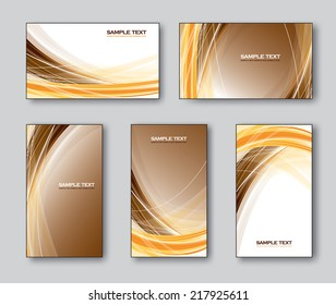 Templates for Business Cards or Gift Cards.