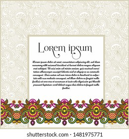 templates format for invitation, greeting card, wedding card, vector elements for Designing