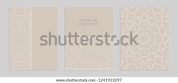 Templates Greeting Business Cards Brochures Covers Stock